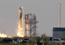 Jeff Bezos blasts into space on own rocket
